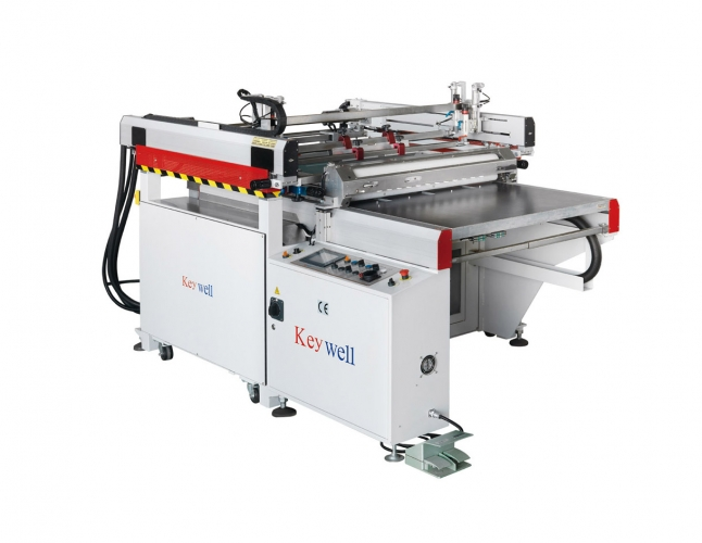 High Precision Medium Four-Post Table Sliding Screen Printing Machine