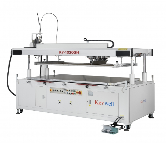 Four-Post Screen Printing Machine